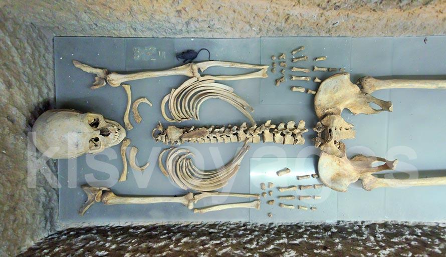 szkelet księżniczki Karii zamek w Bodrum
