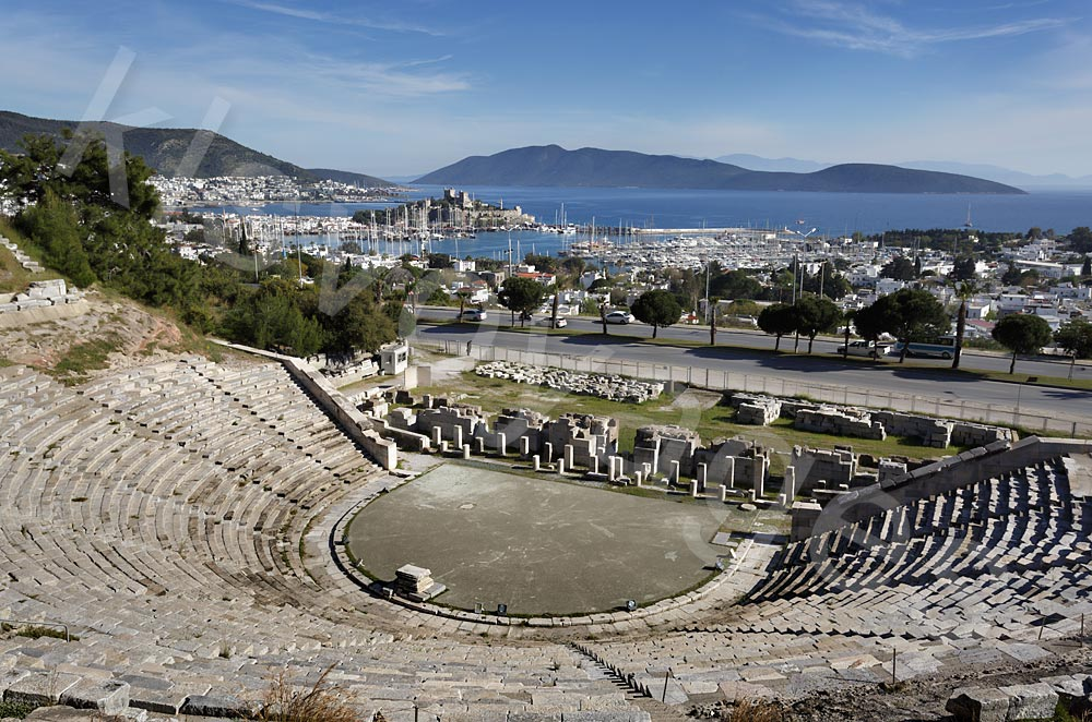 Bodrum amfiteatr. Bodrum atrakcje turystyczne