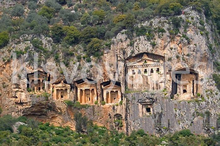 wycieczka Dalyan z Bodrum grobowce likijskie