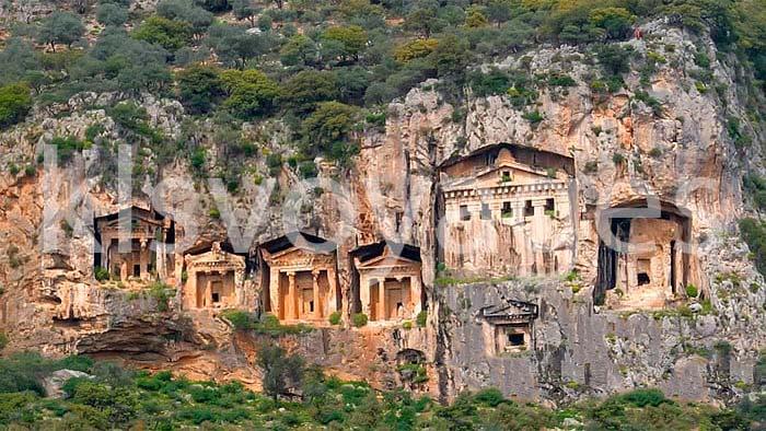 wycieczki fakultatywne w Bodrum, wycieczka z Bodrum do Dalyan i grobowce likijskie