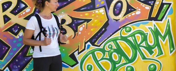 bodrum turcja wycieczki wakacje graffiti
