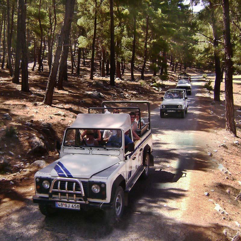Wycieczki fakultatywne z Bodrum.Jeep safari w Bodrum
