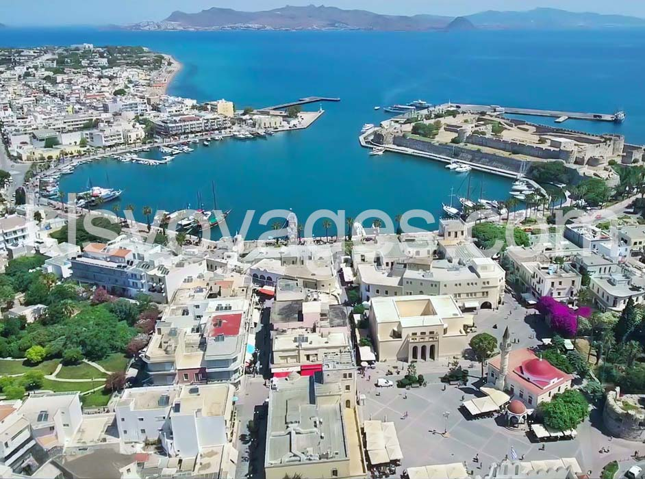 Wyspa Kos z Bodrum - wycieczka na wyspę Kos - widok na zatoke