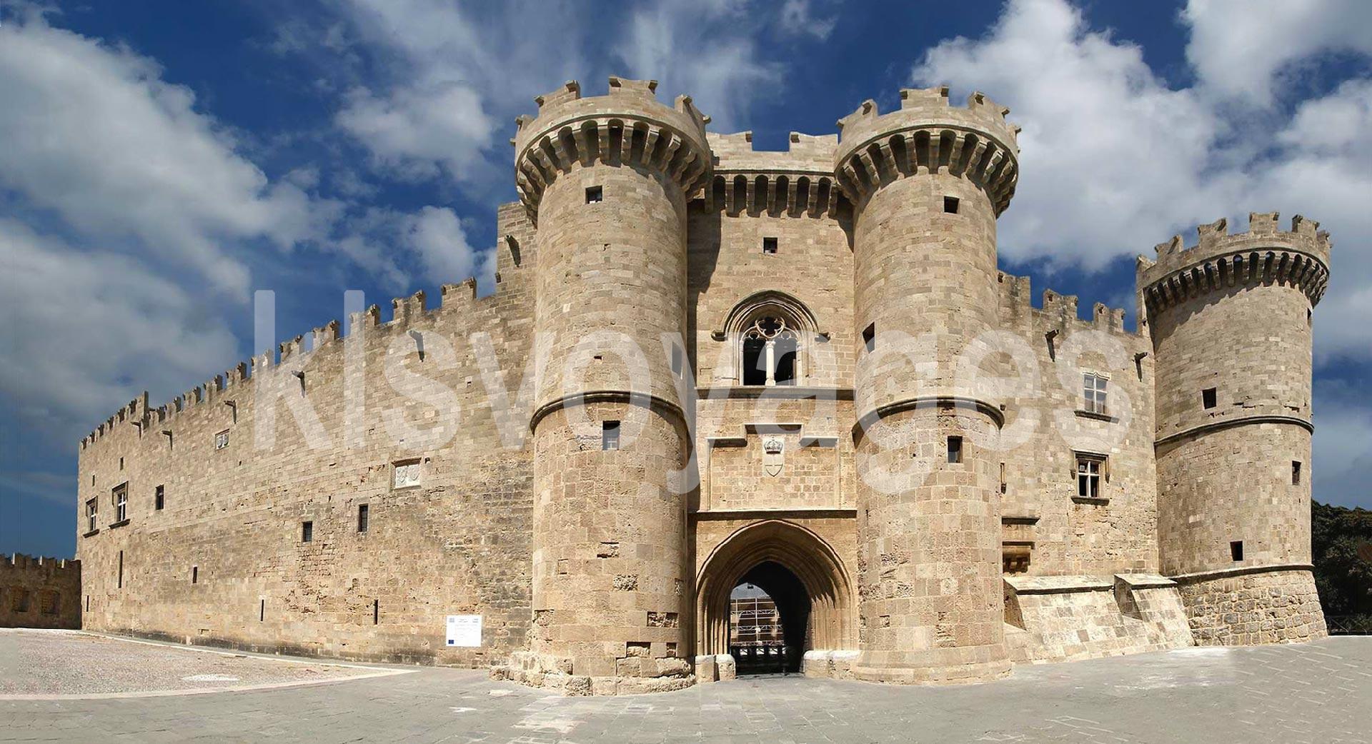rodos zamek joannitow wielkich mistrzow