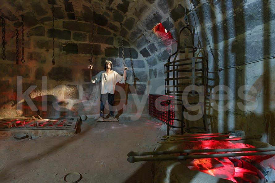 sala tortur zamek w Bodrum