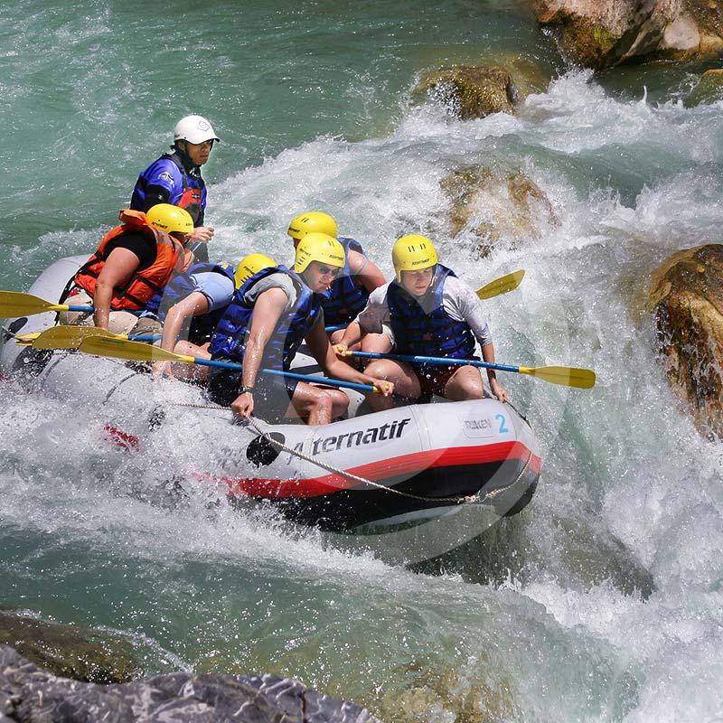 Rafting w Bodrum. Wycieczka rafting z Bodrum. Spływ pontonami po rzece Dalaman