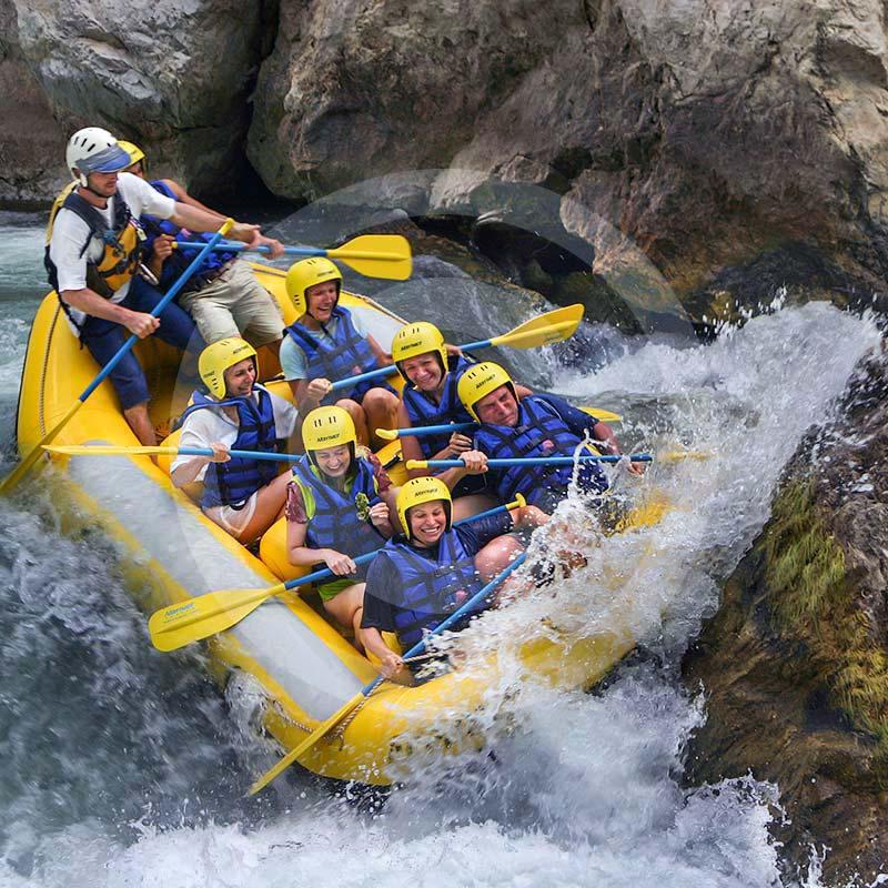 rafting z bodrum splyw pontonami na rzece Dalaman