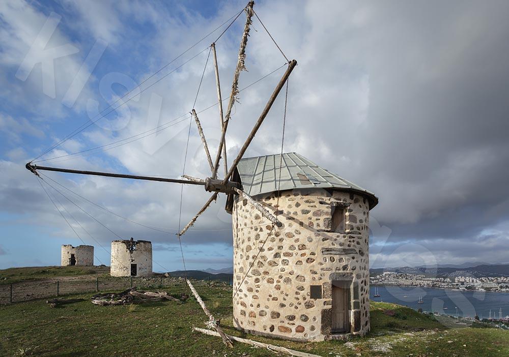 Bodrum atrakcje turystyczne. Wzgórze z wiatrakami
