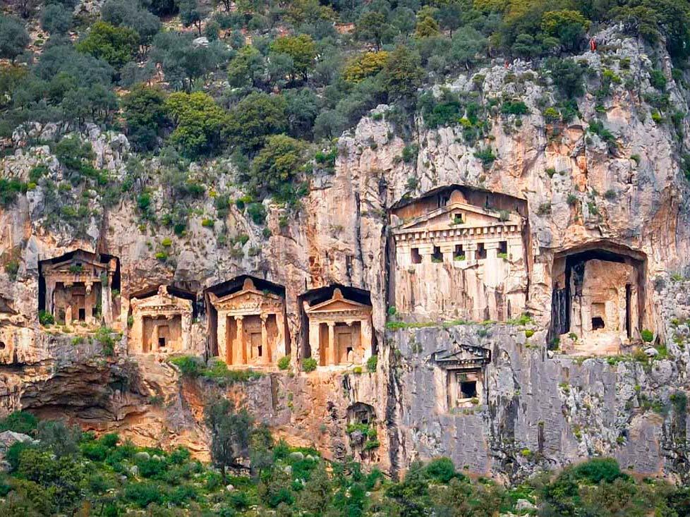 wycieczka dalyan z bodrum i grobowce likijskie