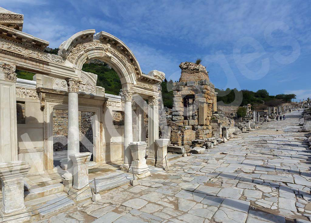 Wycieczka Efez z Bodrum i świątynia Hadriana i droga kuretów