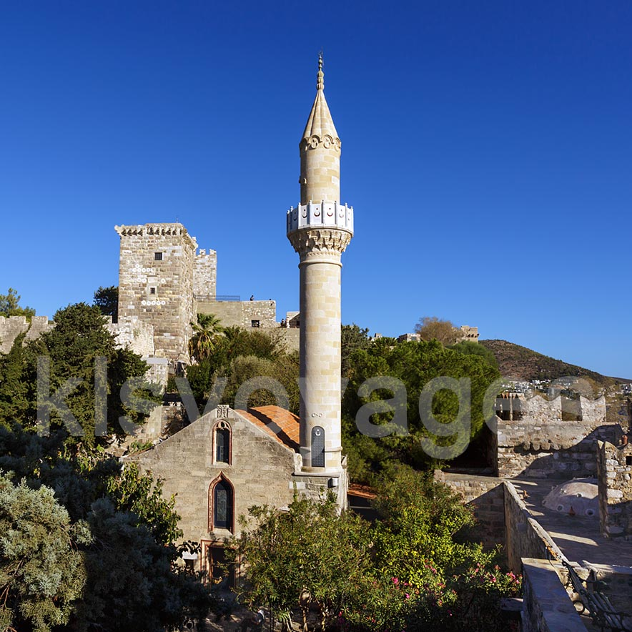 zamek w bodrum meczet